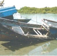 KPPBC TMP C Banda Aceh : 1 (satu) paket kapal (bukan baru) dalam kondisi apa adanya
