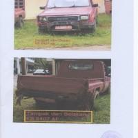 BKSDA : 3 unit mobil Daihatsu / F70 Nopol : KB 8406 AF, KB 8407 AF dan KB 8411 Af Tahun 2002