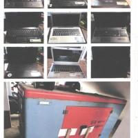 Kantah.Kuburaya: 1 (satu) paket barang inventaris kantor sejumlah 84 unit rusak berat.