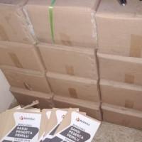 Kertas dan Cover Lainnya berupa Cetakan Buku Saksi Parpol sejumlah ± 11.039 pcs dengan kondisi apa adanya (Usang) BAWASLU BANTEN