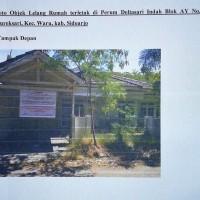 Kurator PT KSP Dkk (3): Tanah dan bangunan, luas tanah 255 M2 di Perum Deltasari Indah Blok AY No.16 Waru - Sidoarjo