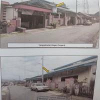 1 bidang tanah dengan total luas 825 m2 + rumah di Kabupaten Lampung Barat