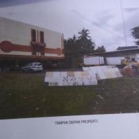 1 bidang tanah dengan total luas 2.395 m2 berikut bangunan ruko + gudang di Kota Bandar Lampung