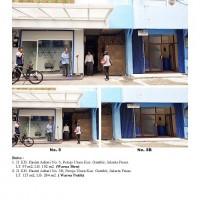 Lot 1 Kurator: 3 bid T/B luas  334 m2, SHGB di Jl KH Hasyim Ashary No. 5, No. 5-B, No.5-D Petojo Utara Jakarta Pusat