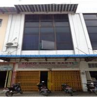 Bank Mandiri Lot.2, tanah luas 96 m2 dan bangunan diatasnya,di Jalan Sisingamangaraja, Kel Bandar Sono, Kec Padang Hulu