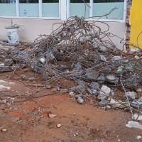 [MAN1Bkt] 1. 1 (satu) paket Sisa Bongkaran Bangunan Gedung Kantor Pendidikan Permanen