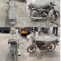 Polres Tanjungbalai -berupa sebanyak 5 (lima) unit kendaraan bermotor roda dua dalam kondisi scrap