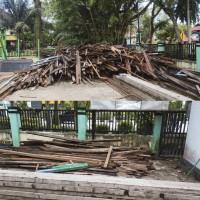 MAN 2 PTK : Bongkaran eks Bangunan Gedung Pendidikan Permanen (NUP 2)