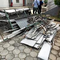 1 (satu) paket sisa material bongkaran renovasi gedung Kantor Wlayah DJKN Banten
