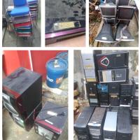 1 (satu) paket peralatan dan mesin kondisi rusak berat (daftar barang di Uraian)