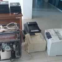 BPSBky: 1 (satu) paket barang inventaris, peralatan dan mesin kantor dalam  kondisi rusak berat.