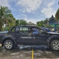 KPP Tarakan: 1 mobil Nissan Frontier Navara, KT 8989 FR, warna hitam, tahun 2008, kondisi baik, di Tarakan