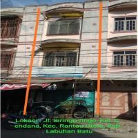 Bank mandiri] 3. Tanah luas 73 m² + bangunan di Jalan Siringo-ringo rantauprapat