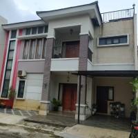 KSP: Sebidang tanah berikut bangunan, di Komplek Miral Residence, Blok.D No.1, Kel. Pisangan, Kec. Ciputat Timur, Kota Tangerang Selatan