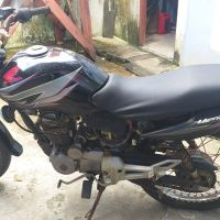 BPS KOtabaru-1 (satu) buah Sepeda motor dengan kondisi rusak berat merk/tipe : Honda GL 160 D, warna hitam, No. Polisi DA 4012 GH
