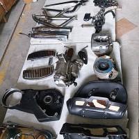 KPU BEA CUKAI SOETTA : Lot 02. 1 (satu) paket Spareparts Motor HD dan accessories