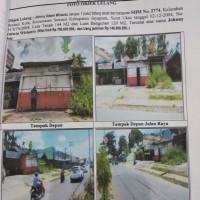 L. Eksekusi (PT BPD Bank Papua KCU Jayapura) : tanah berikut bangunan ruko di atasnya, LT 144 m2 (SHM 2774) di Jayapura Selatan, Papua