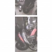 Kejari Yogya_4: 1 unit sepeda motor Honda Vario, nopol AB 4226 OH,  hanya STNK tanpa BPKB, kondisi apa adanya