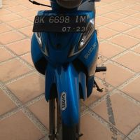 11.Kurator PT Yasanda, 1 unit kendaraan roda 2 merek Suzuki Warna Biru Hitam type FH 110 D  tahun 2008 BK 6698 IM