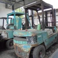 16.Kurator PT Yasanda, 1 unit Forklift Mitsubishi