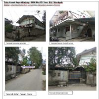 PT BNI KC Jayapura: tanah luas 600 m2 dan bangunan di atasnya sesuai SHM 0313, Kel. Sentani Kota, Kec. Sentani, Kab. Jayapura
