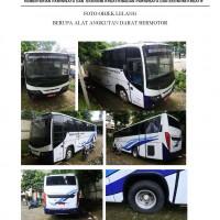 Satu unit Bus di Kota Bandung