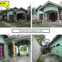 [bank mega medan] tanah luas 781 M2 + bangunan di jl Melintang Desa Punggulan Kec Air Joman Kab Asahan SumUt