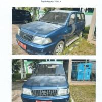 KPKNL Bogor : 1 (satu) unit Mobil Toyota Kijang KF80 Thn.2002 No. Pol: F 1293 A No  dengan kondisi rusak berat (apa adanya)