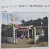 L. Eksekusi (PT Bank BRI Tbk., KC Abepura) : tanah berikut bangunan rumah di atasnya, Luas tanah 100 m2 (SHM 1452) di Asano, Abepura