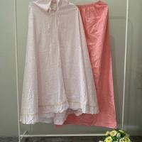 Fera Puspita (2) : 1 (satu) buah Mukena Katun Jepang warna baby pink