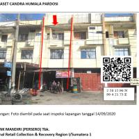 Mandiri Lot 2, tanah seluas 79m2 berikut bangunan diatasnya, Jl. Sisingamangaraja Kel. Kahaean Kec. Siantar Utara, Kota Pematangsiantar