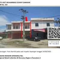 Mandiri Lot 4.1, tanah seluas 129m2 berikut bangunan diatasnya, di Jalan Letda Sujono, Kel. Teuluk Karang, Kec. Bajenis Kota Tebing Tinggi