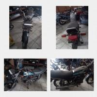 KanimSkw:5.Ranmor R.2 Yamaha RX King Th.2003,Nopol KB 4121 C,Noka: MH33KA0123K636880,Nosin: 3KA-611170, kondisi rusak berat.