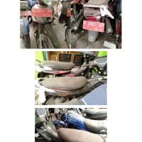 Sepeda Motor, Merk/Tipe Honda NF125TD, Nopol N 3991 AP, Tahun 2009
