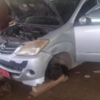 5. 1 (satu) unit mobil merk/type Toyota Avanza Tahun 2008 No. Polisi BD 50 WY milik Pemda Kabupaten Kaur.