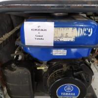 LOT 26 / 1 (satu) unit genset Yamaha milik Pemerintah Kota Palu. Kondisi rusak berat.