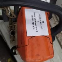 LOT 27 / 3 (tiga) unit mesin chain saw milik Pemerintah Kota Palu. Kondisi rusak berat.