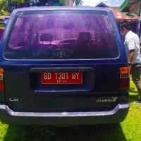 6. 1 (satu) unit mobil merk/type Toyota KF 80 Tahun 2004 No. Polisi BD 1301 WY milik Pemda Kabupaten Kaur.