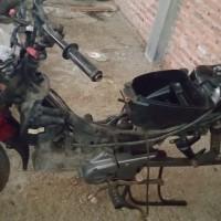 PEMKAB KAUR - Lot.5: 1 Paket Sepeda Motor berbagai Merk dan Type dijual dalam bentuk Scrab
