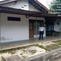 BRI Madiun -3a. Tanah & bangunan sesuai SHM No.302 Lt. 435 m2, terletak di Ds.Karangsono, Kec.Karangmojo (skrg barat), Kab.Magetan