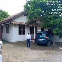BRI Madiun -3b. Tanah & bangunan sesuai SHM No.129 Lt. 339 m2, terletak di Ds.Karangsono, Kec.Karangmojo (skrg barat), Kab.Magetan