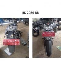 Pemkab Batubara: 13. Kendaraan Roda 2, dengan kondisi rusak berat, BK 2086 BB