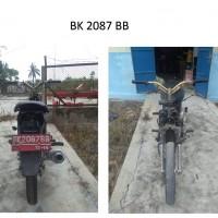Pemkab Batubara: 14. Kendaraan Roda 2, dengan kondisi rusak berat, BK 2087 BB