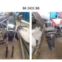 Pemkab Batubara: 19. Kendaraan Roda 2, dengan kondisi rusak berat, BK 2431 BB
