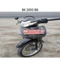 Pemkab Batubara: 15 . Kendaraan Roda 2, dengan kondisi rusak berat, BK 3647 O (dh. BK 2093 BB)