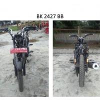Pemkab Batubara: 17. Kendaraan Roda 2, dengan kondisi rusak berat, BK 2427 BB