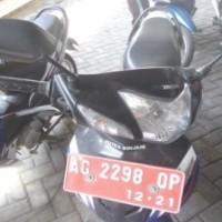 Sepedamotor Honda NF 100 SL, Tahun 2006, Nopol AG 2298 QP Warna BIRU PUTIH