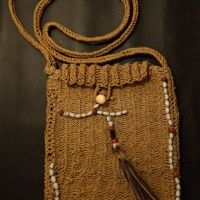 LOT 9: Tas Asmat terbuat dari pohon sagu
