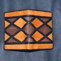 LOT 14: Dompet pendek kulit ikan napoleon