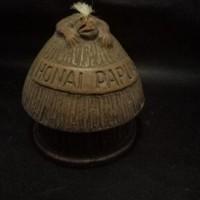 LOT 23: Asbak honai bahan terbuat dari tanah liat